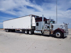 Truck and Reefer trailer for sale
