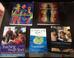 Education and Psychology Textbooks