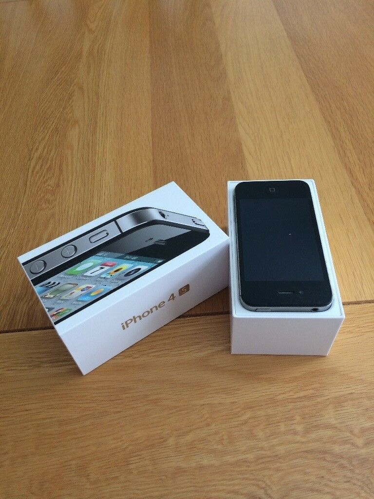 I PHONE 4S WITH ORIGINAL BOXUNLOCKED25in Corfe Mullen, DorsetGumtree - This Apple i phone 4S is in good condition and working order. Selling due to upgrade