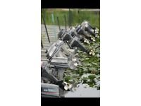 Outboards boat engines ££££ 2-200hp