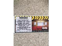 26th august Leeds festival ticket £80!