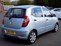 HYUNDAI I10 1.2 CLASSIC 5dr 85 BHP Ideal First Car Low Tax + I (silver) 2014