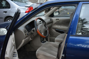 Selling cheap!! 2001 Toyota Corolla CE Sedan