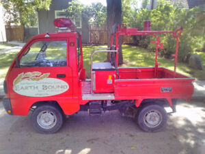 1990 Suzuki Mini Truck Fire Engine (Street legal ATV)
