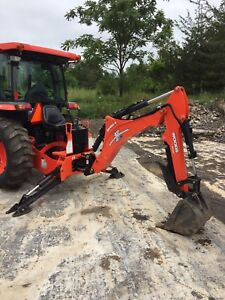 Woods BH80X Backhoe Attachment