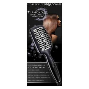 NEW:InfinitiPRO Diamond Brilliance Ionic Straightening Brush