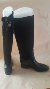 Size 3 girls black boots