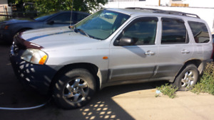 **MECHANIC SPECIAL**  2001 MAZDA TRIBUTE DX 5 SPEED