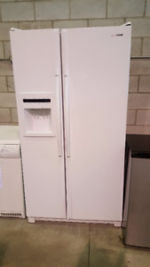 "FRIDGE WHITE SAMSUNG FRIDGE WHITE SIDE BY SIDE 36"" FRIDGE"