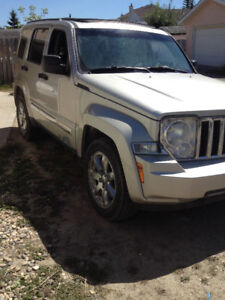 2008 Jeep Liberty LIMITED EDITION SUV, Crossover cheapest SUV