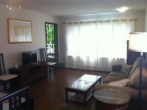 KITSILANO FURNISHED 1 BD SUNNY, SPACIOUS, ALL INCL. OCT 1ST