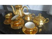 Bareuther gold 15piece china coffee set