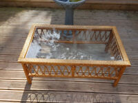 Glass topped coffee table *lovely*