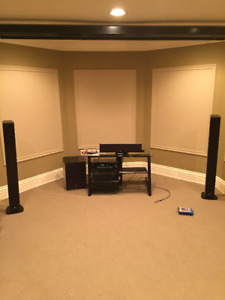 Home Theatre Equipment (Speakers, Receiver, Stand)