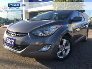2012 Hyundai Elantra GLS | M/T | ALLOYS | ROOF | BLUETOOTH | ONE