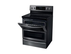Convection Stove Black Stainless Steel
