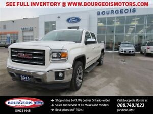 2014 GMC Sierra 1500 SLT CREW 4X4 BLUETOOTH REAR VIEW CAMERA