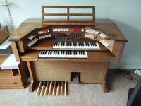 Baldwin 191 marquee fun machine organ (with bench/stool)