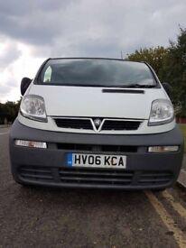 Vauxhall Vivaro LWB only 85,000 on the clock