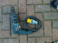 Bosch SDS drill 110v