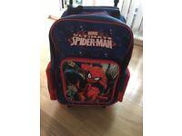 Boys Spiderman Luggage Suitcase