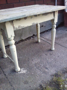 Old Shabby Chicque table