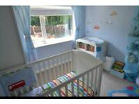 Mothercare happytown boys bedding nursery bundle. Curtains/bumper/bedding/rug
