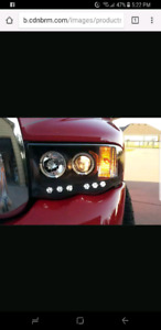 2002-2005 dodge halo headlights