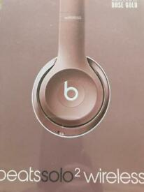 Beats Solo 2 Wireless brand new boxed