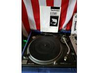 technics 1210 mk2 . mixer and carrycase