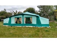 Pennine Pullman 535, 6 Berth folding camper with awning