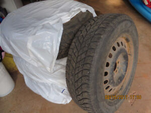 Wheel Rims and Snow tires for a 2011 Ford Edge