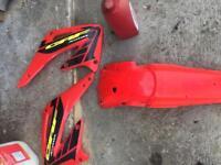 Crf450 plastics fairings