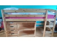 High sleeper and unit to match,great condition! Need gone asap