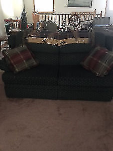 Queen size pull out Loveseat