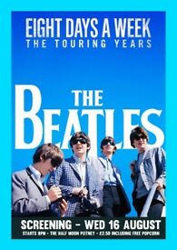 Film Night: The Beatles - Eight Days A Week @ The Half Moon Putney