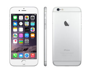 Unlocked Apple iPhone 6 Silver 64GB in New Condition
