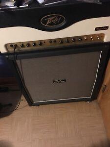 Peavey Windsor 100 watt head and Kustom 4x12