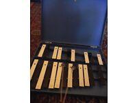 Vintage glockenspiel