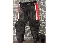 Hein Gericke leather pants size 40
