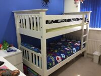Bensons for Beds Bunk Bed - Used , in very good condition (with new Costco Mattresses)