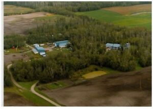 PRIVATE ACREAGE - STRATHCONA - CLOSE TO CITY