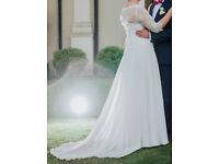 wedding dress - ecru - size 14