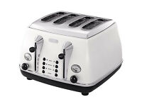 4 slice DēLonghi toaster in very good condition only £25