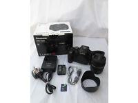 Panasonic LUMIX G DMC-G6 Micro 4/3 Camera with 14-42 lens + Accessories.