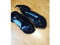 Gilera runner gloss black airbox and engine cover