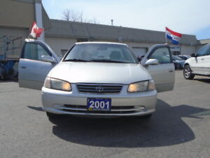 2001 TOYOTA CAMRY CE-4 CYL  2.2L 5-SPEED { R.H AUTO SALES }