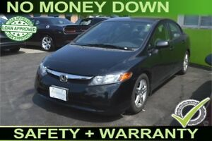 2006 Honda Civic DX Sedan AT, GUARANTEED APPROVAL, BAD CREDIT OK