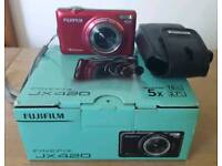"""FujiFilm Finepix JX420. Hardly Used. Box with manual and leads. 16 MP. 2.7"""" LCD. HD Movie"""