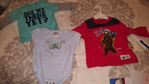 New boys clothes